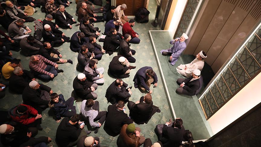 Diyanet İşleri Başkanı Erbaş Millet Camisi'nde sabah namazı kıldırdı