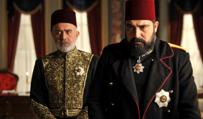 Payitaht Abdülhamid'de Geceye Damga Vuran Kudüs Sahnesi
