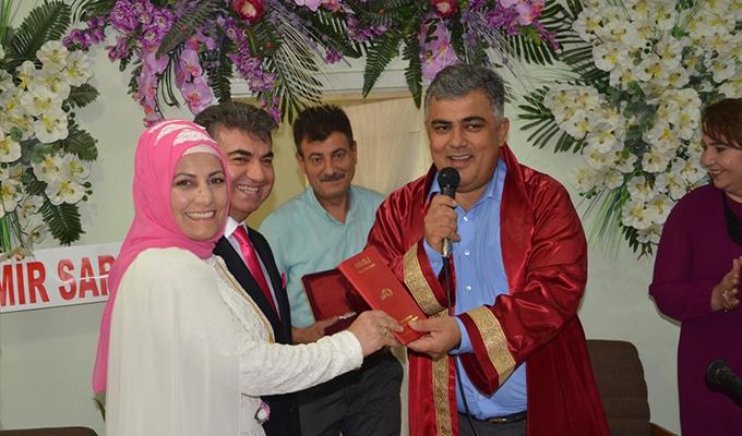Ereğli'de 2017'de bin 148 nikah kıyıldı