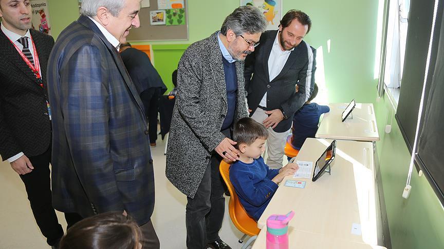 İstanbul Millî Eğitim Müdürü Yelkenci, BİLSEM'i ziyaret etti
