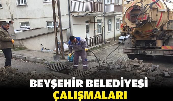 Beyşehir Belediyesi çalışmaları