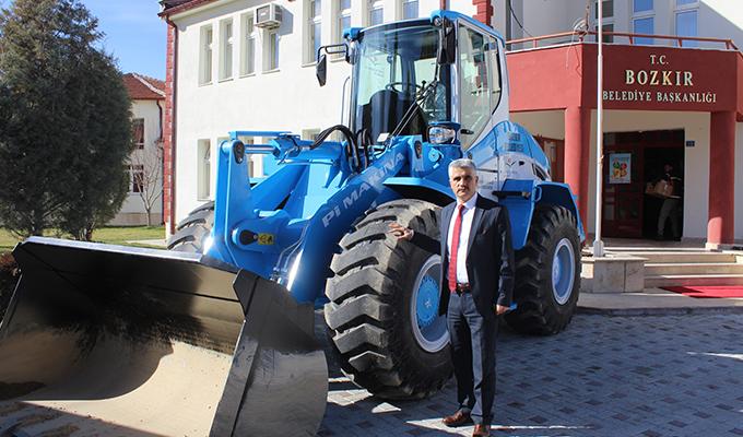 Bozkır Belediyesi araç filosunu genişletmeye devam ediyor