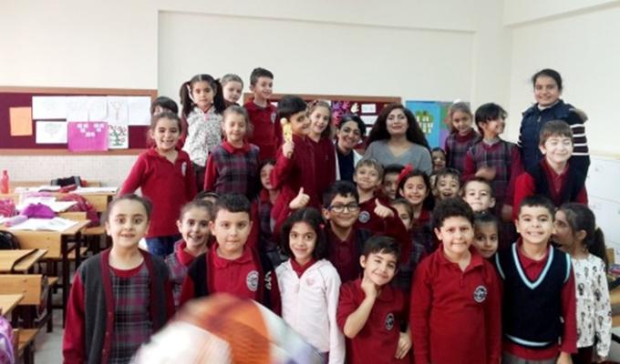 Seydişehir'de öğrencilere ağız ve diş sağlı seti dağıtıldı