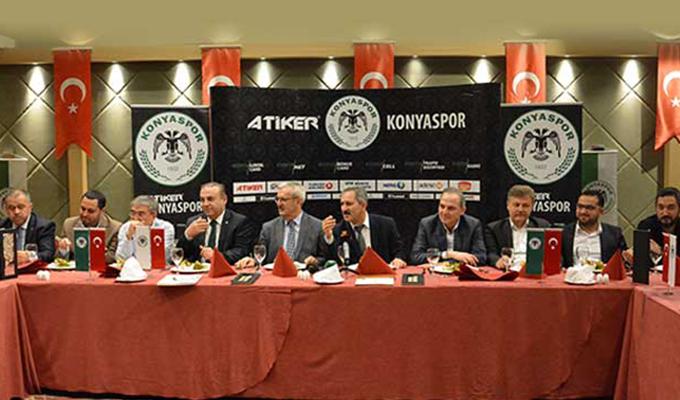 Konyaspor yönetimi istişare toplantısı gerçekleştirdi