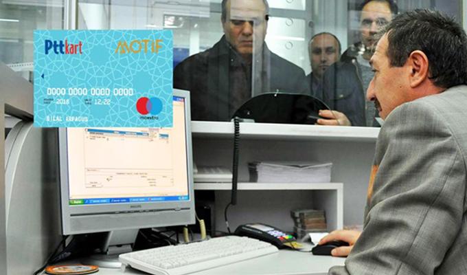 PTT Motif Kart ile memurlara özel hizmet verecek