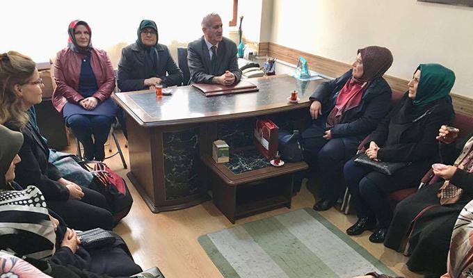 Karatay kent konseyi kadın meclisinden anlamlı ziyaretler