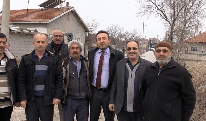 Çumra Belediyesi Mahalle Ziyaretlerine devam ediyor