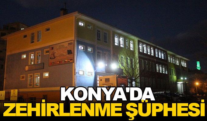 Konya'da zehirlenme şüphesi!