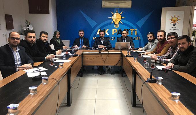 AK Parti Meram'da İlçe Teşkilatı Yürütme Kurulu Belli oldu
