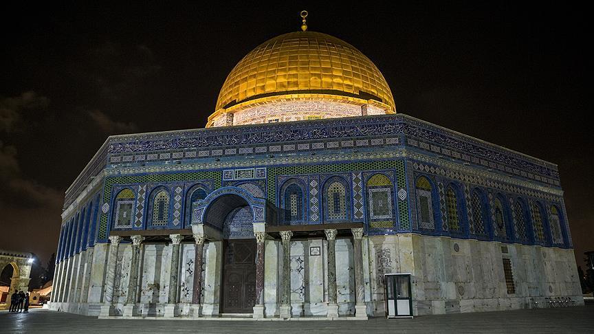 Kubbetu's Sahra'nın ışıklandırılmasına İsrail engeli