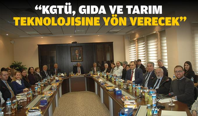 """Başkan Konuk: """"KGTÜ, gıda ve tarım teknolojisine yön verecek"""""""