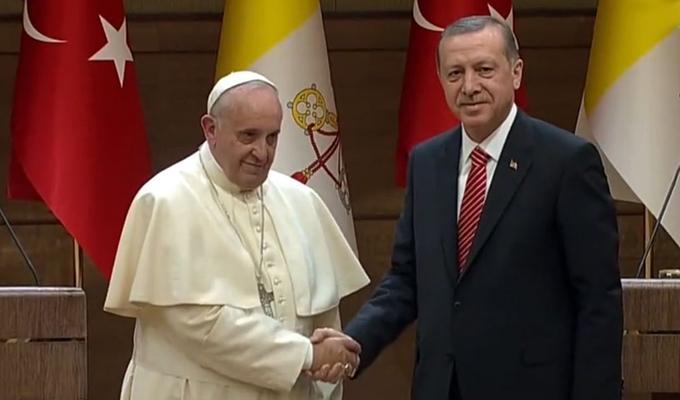 Cumhurbaşkanı Erdoğan, Vatikan'a gidecek!