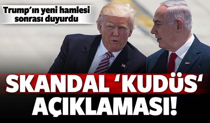 İsrail'den skandal Kudüs açıklaması!