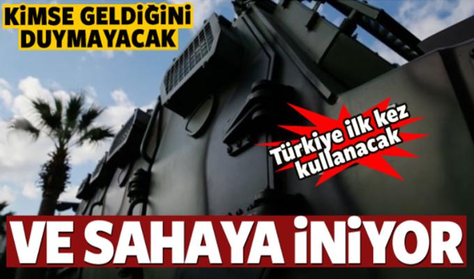 Türkiye ilk kez kullanacak! Sahaya iniyor