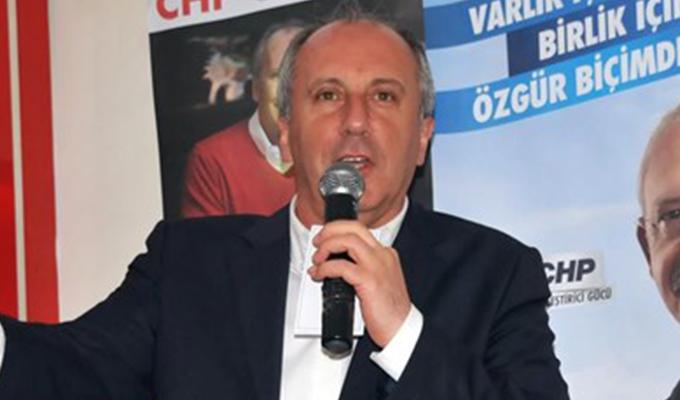 Muharrem İnce, CHP Genel Başkanlığı'na aday olacak