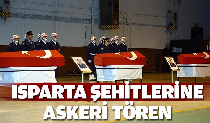 Şehit askerler için Eskişehir'de tören
