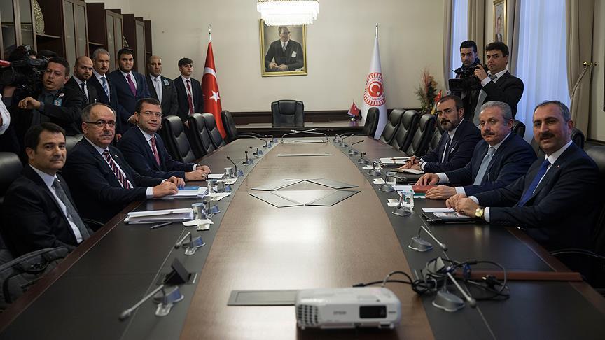 AK Parti-MHP İttifak Komisyonu ilk kez toplandı