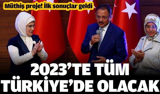 Müthiş proje! 2023'te tüm Türkiye'de olacak