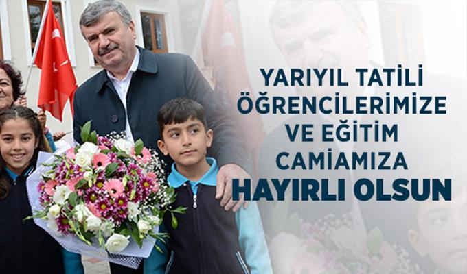 Başkan Akyürek'ten Yarıyıl Tatili Mesajı
