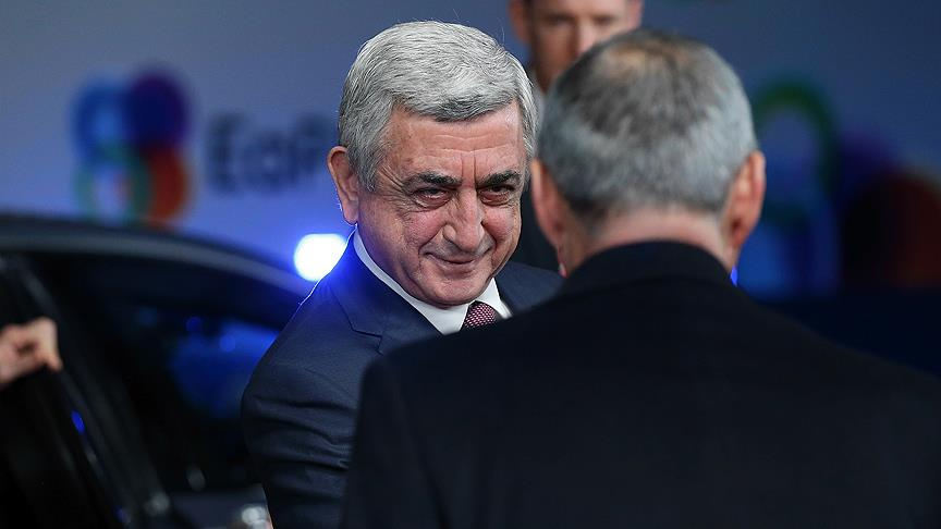 Ermenistan Cumhurbaşkanı Sarkisyan, halefini belirledi