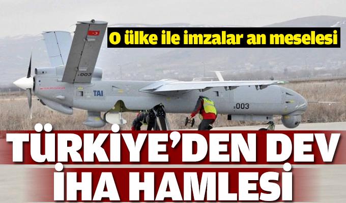 Anlaşma an meselsi! Türkiye'den dev İHA hamlesi