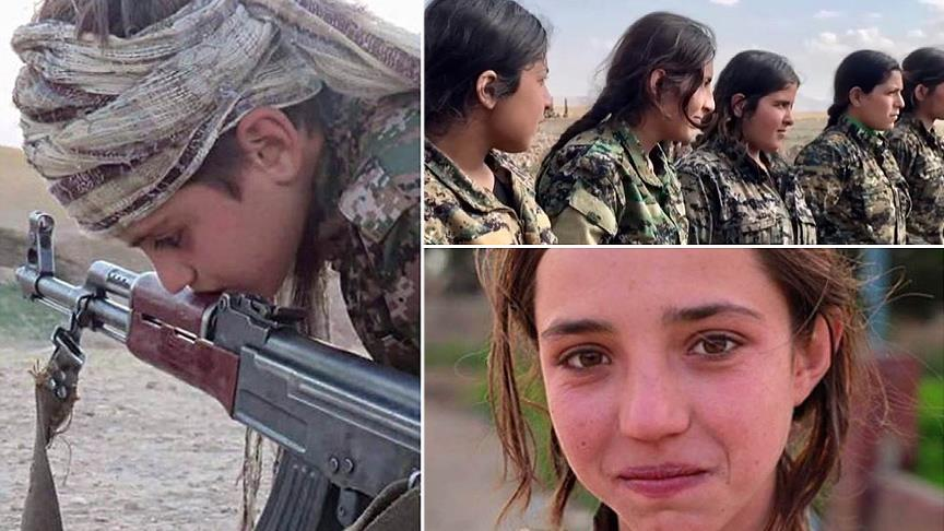 PYD/PKK çocukları zorla silah altına alıyor