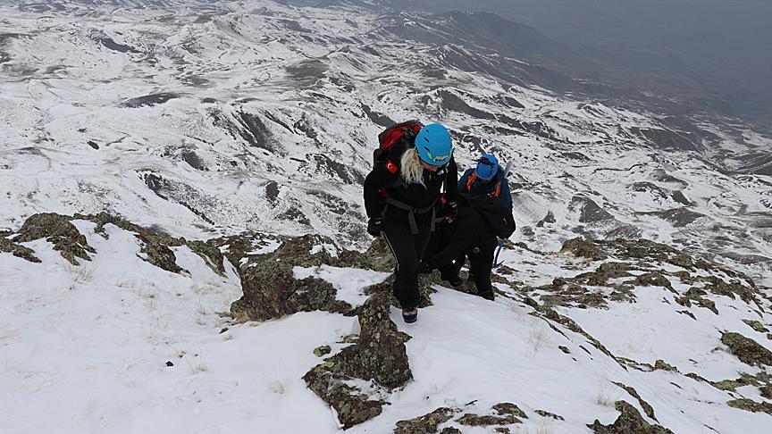 'Doğu'nun K2'si' dağcıların gözdesi oldu
