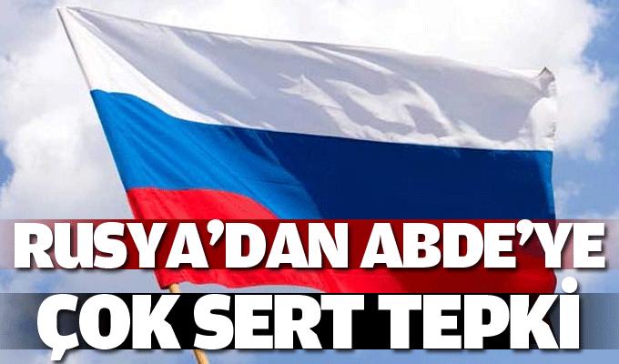 Rusya'dan ABD'ye 'YPG'ye silah' tepkisi!