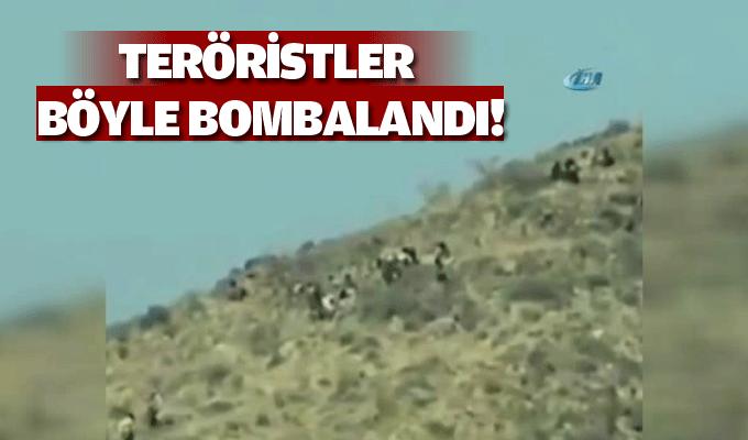Teröristler böyle bombalandı!