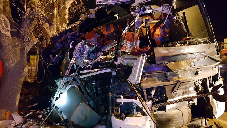 Eskişehir'deki otobüs kazasıyla ilgili 2 sürücü adliye sevkedildi