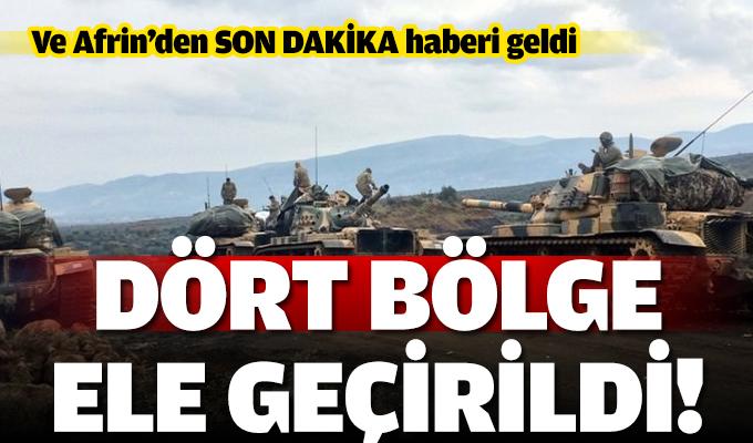 Ve ilk bölge PKK/PYD'nin elinden geri alındı