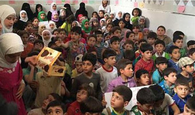 Suriyeli çocuklardan Afrin için