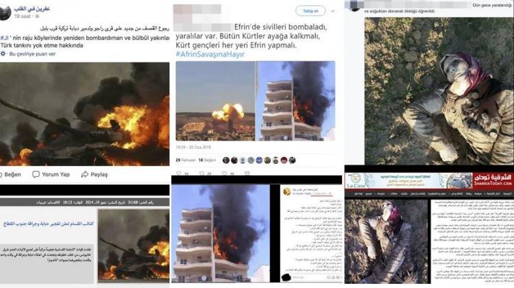 Zeytin Dalı Harekatı'na kara propaganda