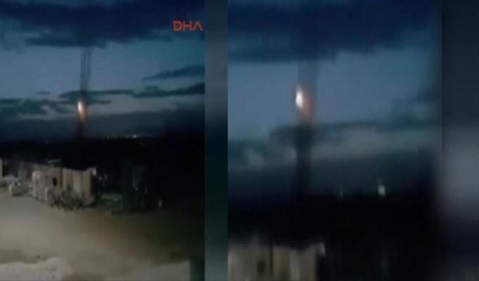 Afrin'deki o mevziler imha edildi! Peş peşe ateşlendi