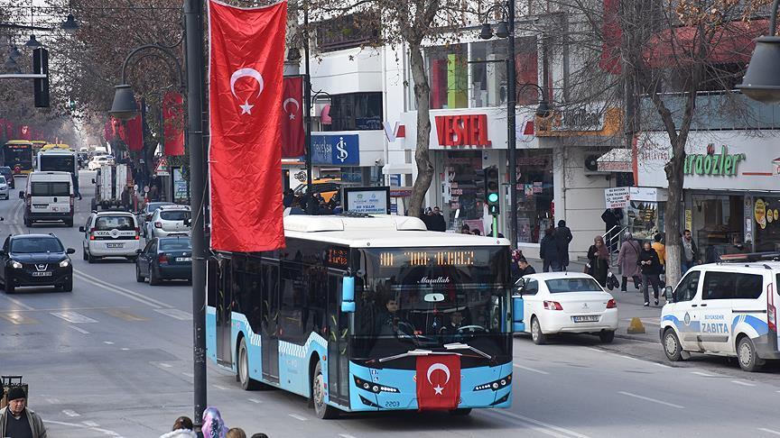Zeytin Dalı Harekatı'na Türk bayraklı destek