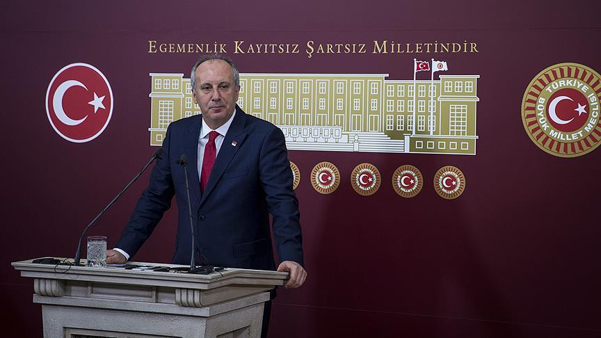 CHP Genel Başkanlığına adayım