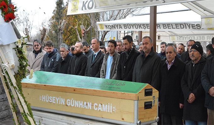 Trabzonspor maçında vefat eden Şakir Aydın, son yolculuğuna uğurlandı