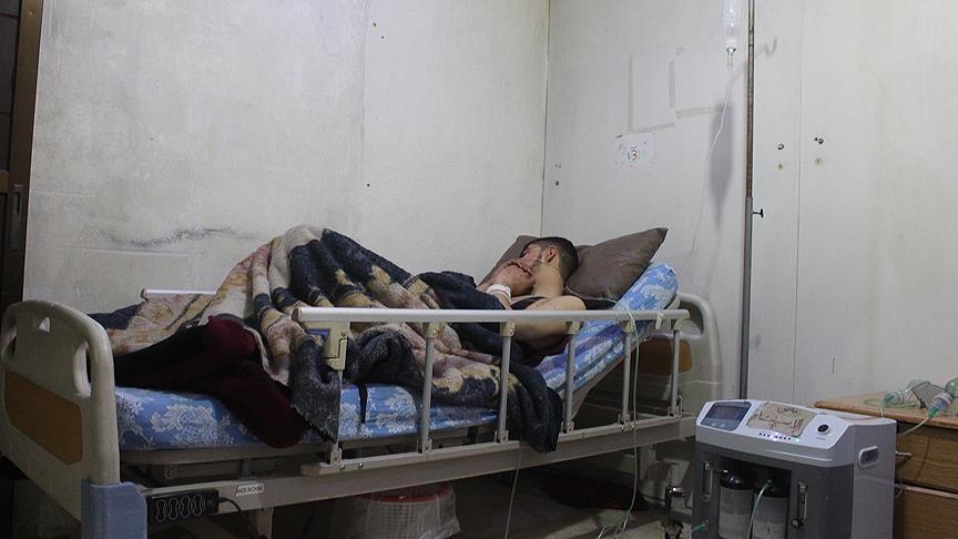 Esed rejimi Doğu Guta'da sivilleri klor gazıyla hedef aldı