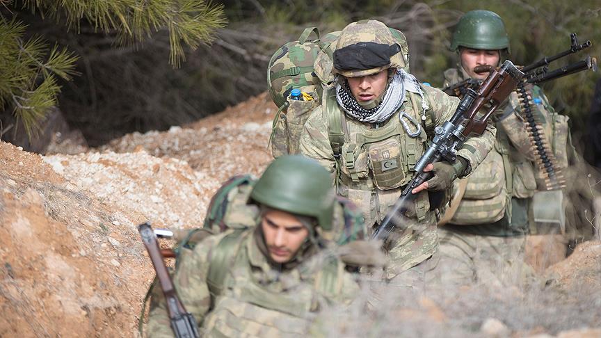 Afrin'de stratejik Burseya Dağı ve üç köyü ele geçirildi