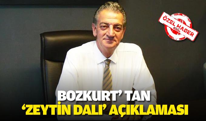 Bozkurt' tan 'Zeytin  Dalı' açıklaması