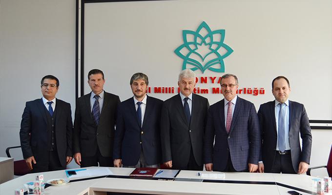 Hidrokon ve Milli Eğitim Müdürlüğü arasında Mesleki Eğitim İşbirliği Protokolü imzalandı