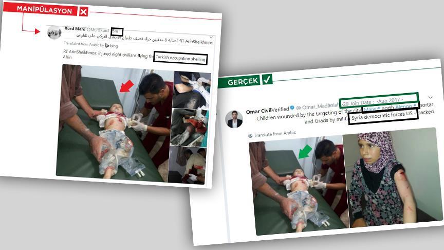 'Bebek katili PKK' kara propagandasında çocukları kullanıyor