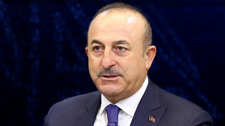 Bakan Çavuşoğlu'ndan şehit üsteğmen için başsağlığı