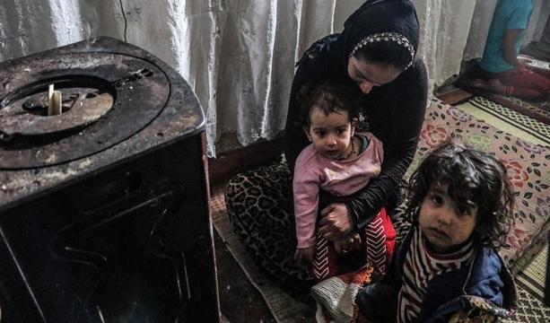 Suriye'deki savaşın acımasız yüzünden kışın zor şartlarına