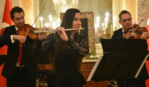 Viyana'da 'Şefika Kutluer konseri'