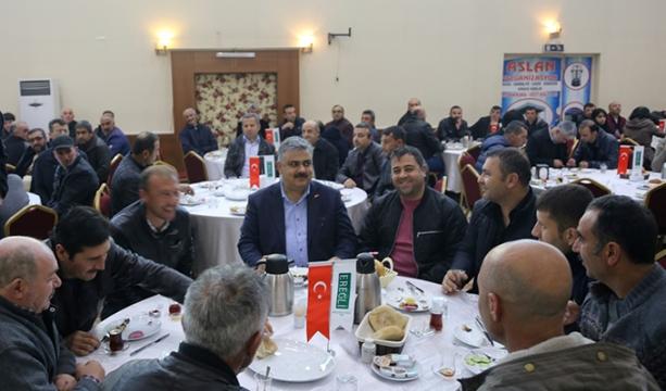 Başkan Özgüven Belediye İşçileri İle Kahvaltıda Buluştu