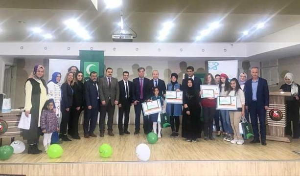'Sağlıklı Nesil, Sağlıklı Gelecek' yetenek yarışmasında ödüller sahiplerini buldu