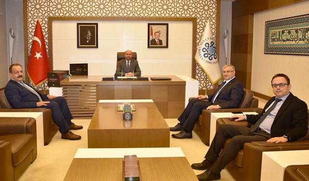 SMMM Odası'ndan başkanlara ziyaret