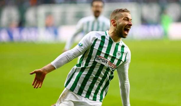 Konyaspor'da Nejc Skubic dönüyor