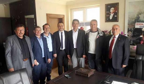 Göktepe Belediye Başkanı'na Konya'dan ziyaret